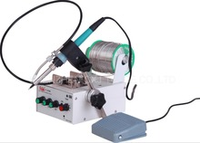Free Shipping Automatic Feeding Tin Thermostatic Soldering Station Foot Machine F3100A 50W Multi-function Electric Iron Tool