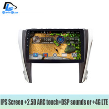 Android 7.1 4G LTE car gps multimedia video radio player in dashboard for toyota Camry 2015-2018 years navigation stereo