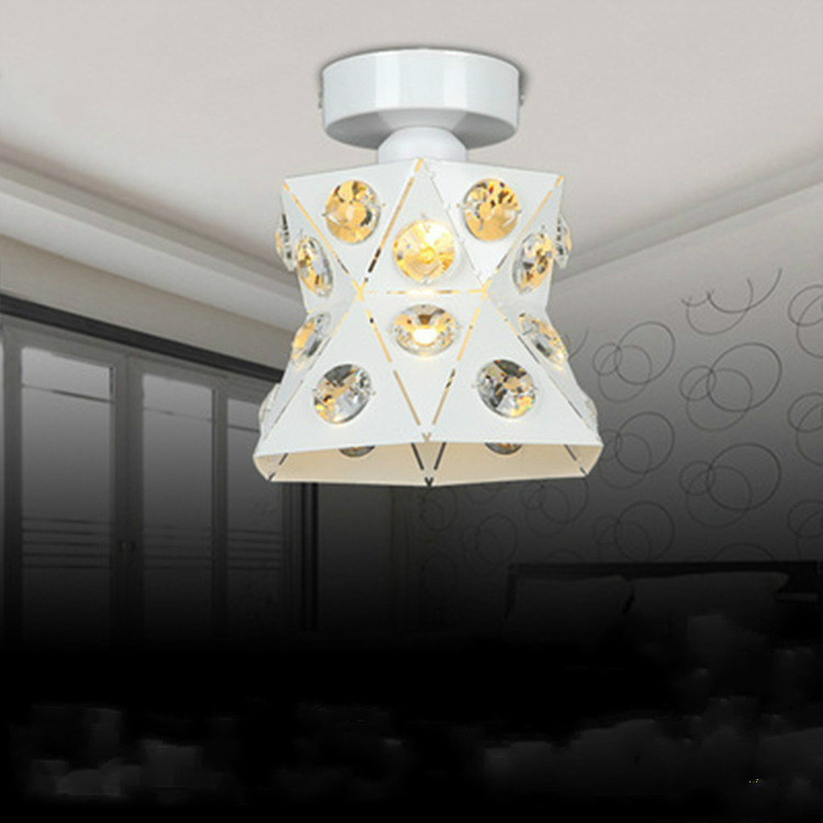 Modern art living room ceiling lamp modern simple crystal ceiling lights LU814931 wieco art modern 100