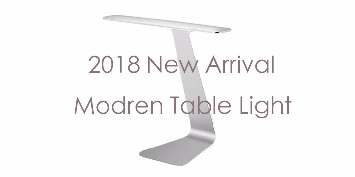 2018 Creative Table Night Light DC5V 500mA 2.5W 300Lm Desk Light Protect Eyes Flexible Lamp Head Fashion Morden Night Light