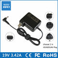 19V 3.42A 5.5*2.5 laptop AC power adapter charger for ASUS PA-1650-01 ADP-65JH BB N193 V85 ADP-65HB ADP-65JH BB US/EU/AU/UK Plug
