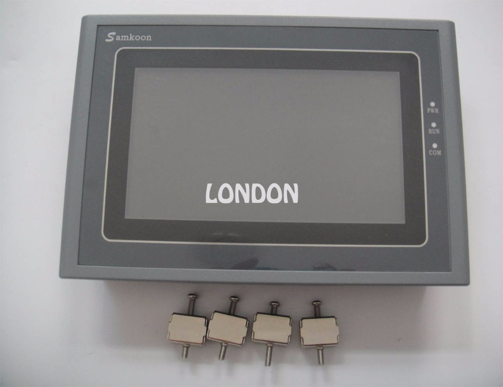 Samkoon SK-070AE HMI Touch Screen 7inch 800*480 1 USB Host 1 SD Card new in box ...