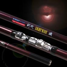 High Quality Carbon Fiber Lure Rod Rock Fishing Rod Super Light Fishing Pole Power XH 2.7/3.0/3.6/4.5/5.4/6.3m Fishing Tackle