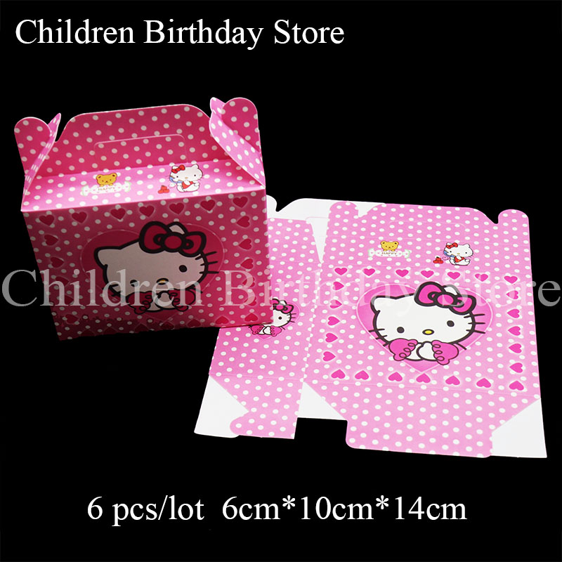 Hello Kitty Candy//Cookie bag Kids Birthday Party Supplies 25 Pcs Set