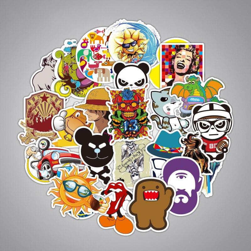 2000 Pcs Lustige Kinder Anime Aufkleber Mode Kinder Graffiti Kleine Aufkleber Spielzeug Wohnkultur Skateboard Gepäck Laptop Aufkleber Spielzeug-in Aufkleber aus Spielzeug und Hobbys bei  Gruppe 3
