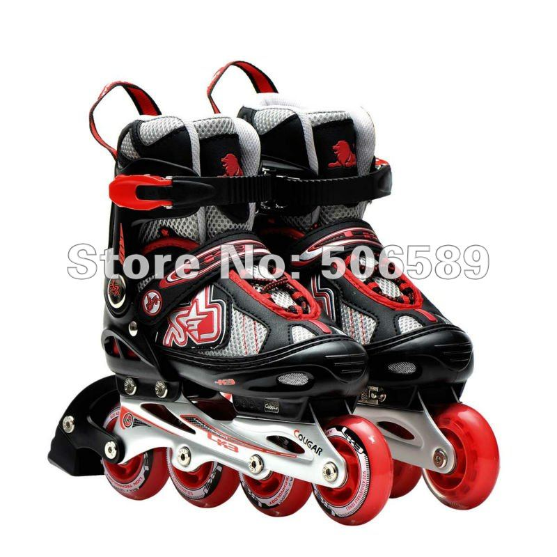 adult's roller skates HZ101 skating shoes free shipping good quality reniaever double roller skates skating shoe gift girls black wheels roller shoe figure skates white free shipping