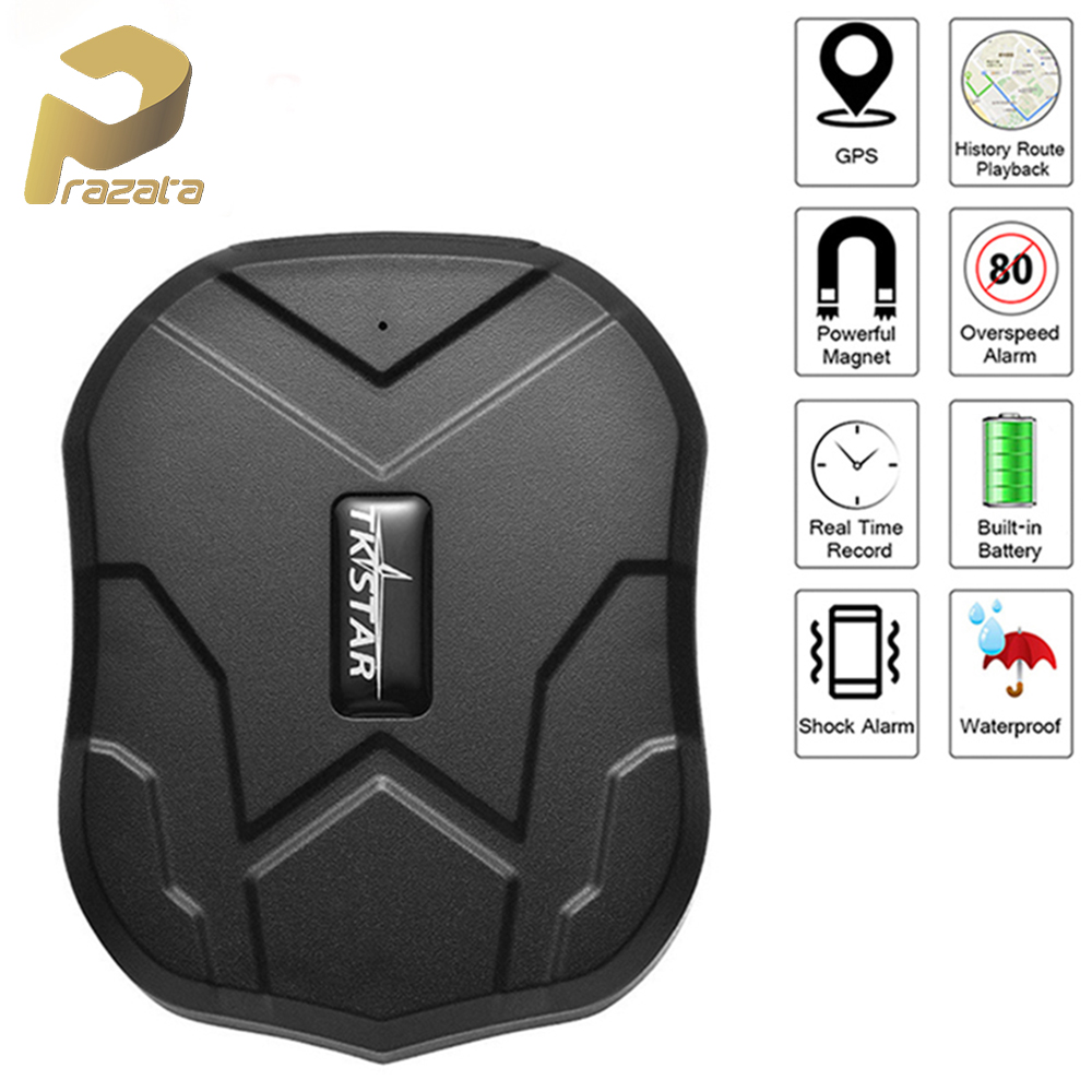 Car GPS Tracker Waterproof IP65 5000mAh Truck Car Locator TKSTAR TK905 90 Days Standby Powerful Magnet Lifetime Free APP Web-in GPS Trackers from Automobiles & Motorcycles on AliExpress - 11.11_Double 11_Singles' Day 1
