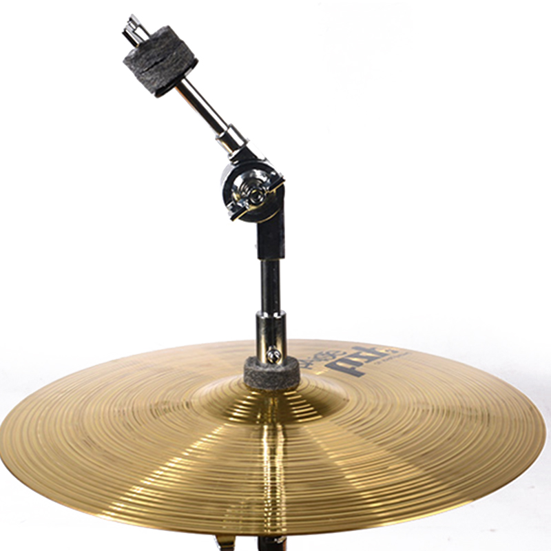 MoonEmbassy Cymbal Arm Overlapable Type Drum Set Cymbals Boom Attachment Clamp Mount Percussion Accessories