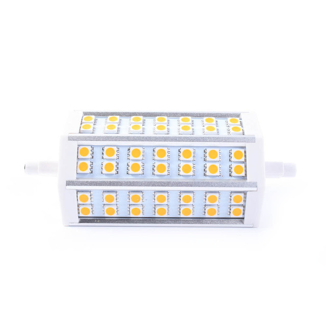 High Power R7S 10W 118mm 42 LED Corn Bulb Light 5050 SMD White/warm white replacement for Halogen Flood Lamp Free drop Ship