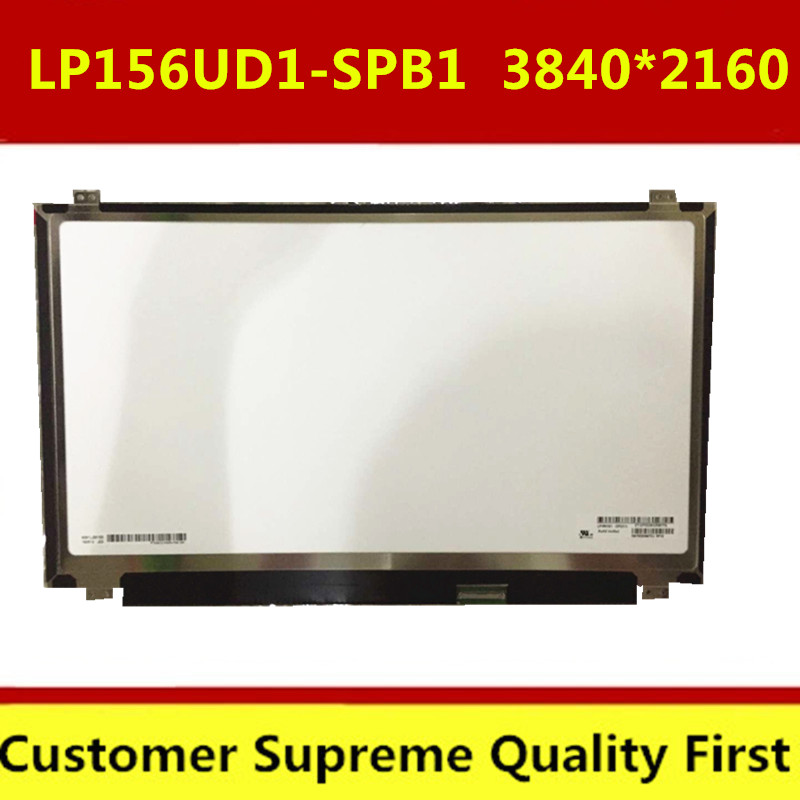 "Free shipping 4K IPS UHD LCD Screen 15.6"" LP156UD1-SPC1 LP156UD1(SP)(C1) 38402160 Non-touch edp 40 pins"