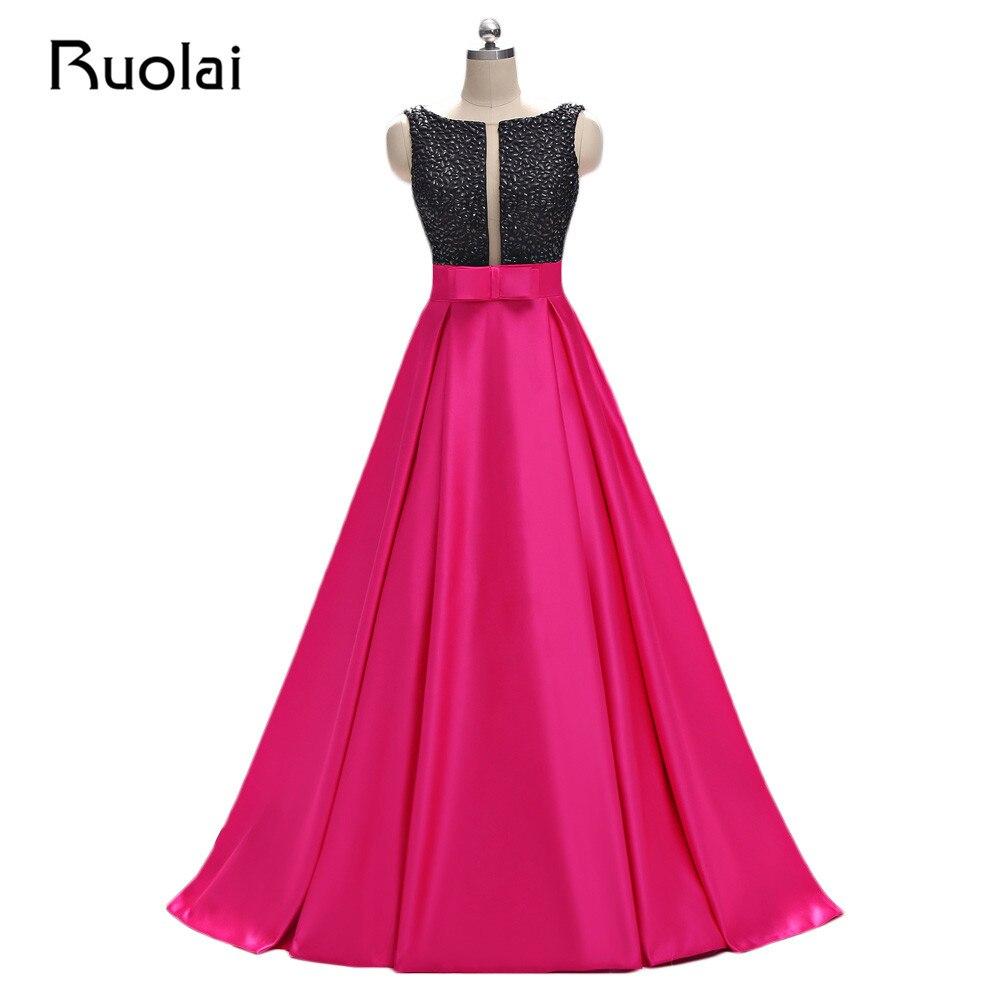 Aliexpress.com : Buy Real Floor Length Evening Dresses 2017 Vestidos ...