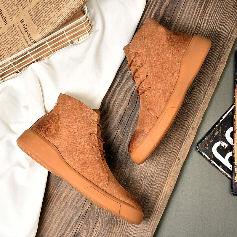 Big size New Men Boots for Men Winter Snow Boots Warm Fur&Plush Lace Up High Top Fashion Men Shoes Sneakers Boots 38 39 45 46 47 high quality men boots 2017 new arrivals waterproof thick plush warm men winter shoes lace up ankle boots size 39 46