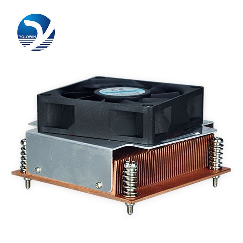 Computer Case wholesales new Radiator Cooling Fan Computer hot cakes Heat dissipation artifact Heat dissipation Radiator F8-01 for pc rt ac68u router cooling transformation radiator custom thermal conductivity copper tube fin radiator fan heat dissipation