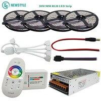 5m 300Leds 5050 Waterproof RGB Led Strip LED Tape Ribbon 1Pcs Touch Controller 1Pcs 12V