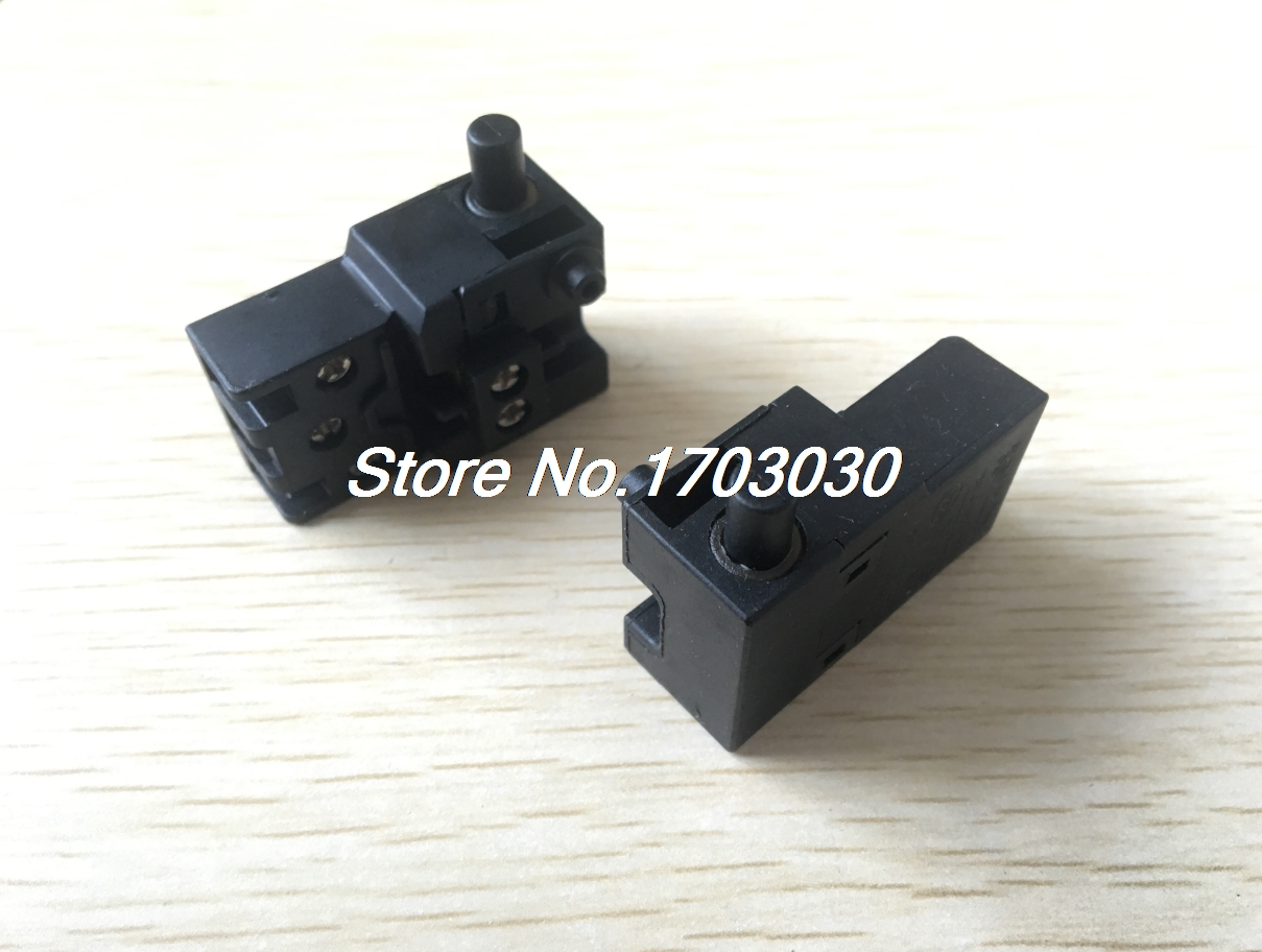 2 Pcs FA2-6/1W AC 12A/125V 6A/250V SPDT Electric Button Switch for Makita 1040