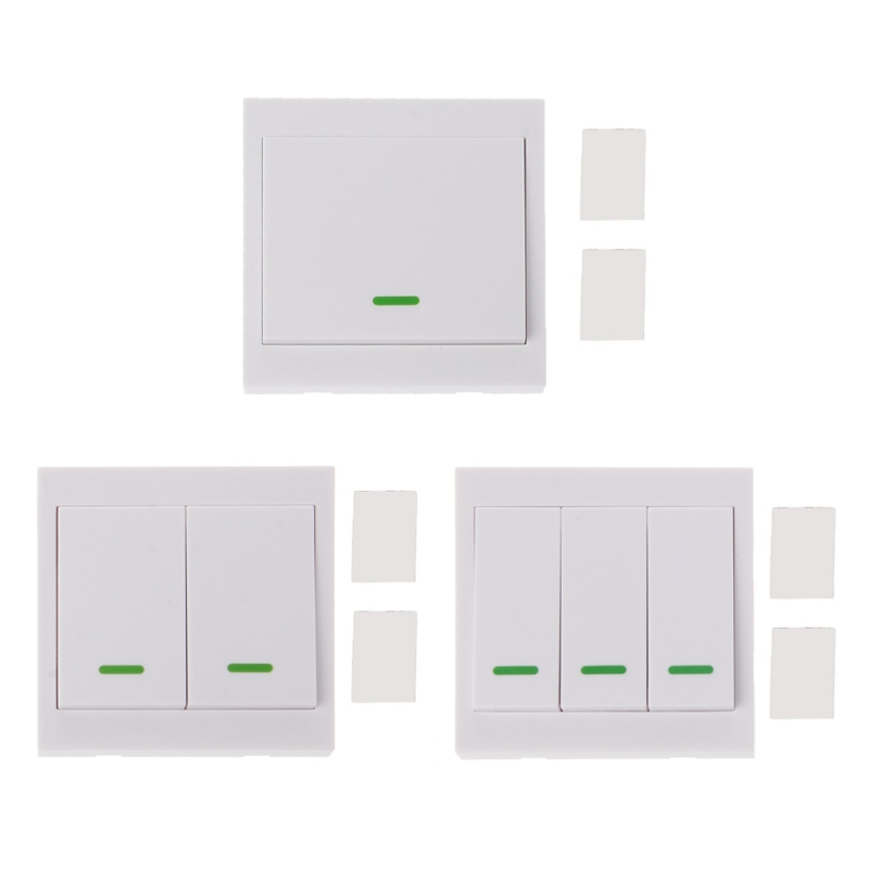 433MHz RF Wireless Remote Control Switch 86 Wall Panel Transmitter With 1 2 3 Button For Home Room Hall Ceiling Wall Light|rf wireless remote control|wireless remote transmitterrf wireless remote - AliExpress