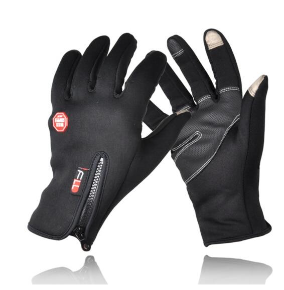 New Autumn Winter Outdoor Sports font b Gloves b font Full Finger Non Slip Touch Screen