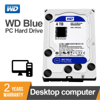WD Western Digital Blue 4TB Hdd Sata 3.5'' Internal Hard Disk Harddisk Hard Drive Disque Dur Desktop HDD for PC