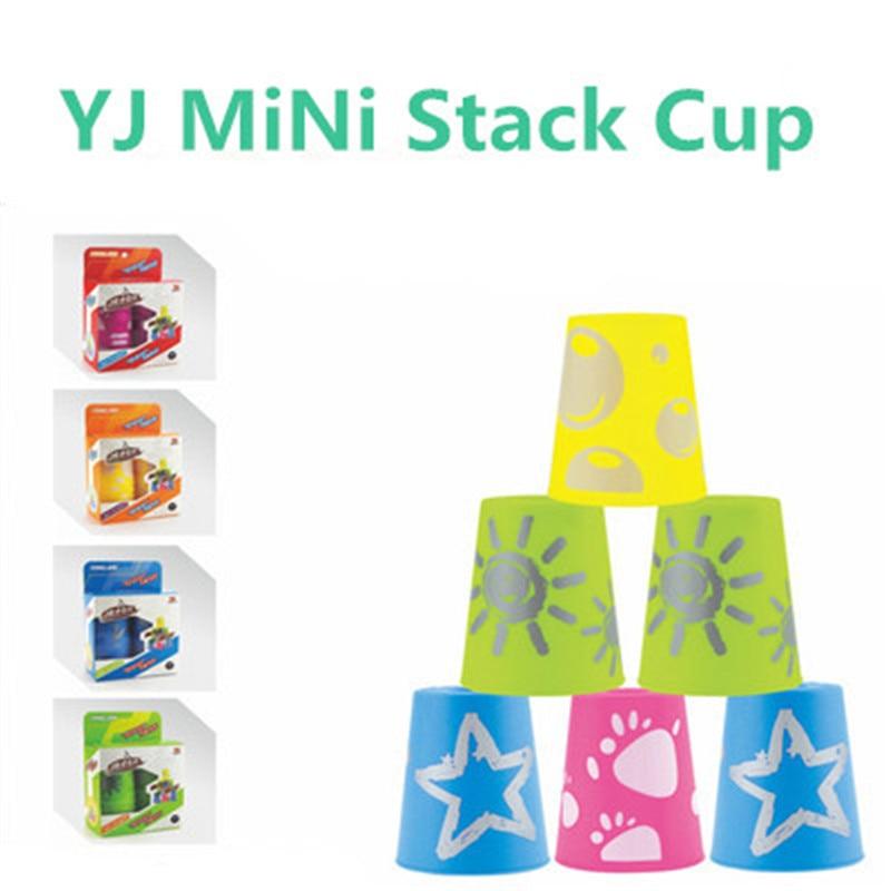 12 Stks/set Yj Yongjun Mini Rapid Ufo Kopjes Paard Hoofd Cup Schotel Vliegende Cup Puzzel Magische Kubus Kleuterschool Kinderen Onderwijs Speelgoed Bevordering Van Gezondheid En Genezen Van Ziekten