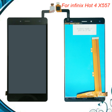 100% Tested OK For infinix Hot 4 X557 And infinix ZERO 3 X552 Full LCD Display Touch Screen Assembly Glass digitizer Replacement