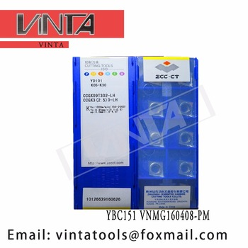 free shipping high quality 10pcs/lots YD101 CCGX09T302-LC CCGX09T304-LC cnc carbide turning insets