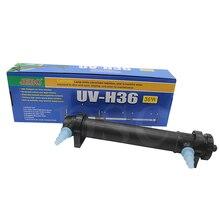 JEBO 220V UV5W H36 36W UV Sterilizer Lamp Light Ultraviolet Filter Clarifier Water Cleaner For Aquarium Pond Coral Koi Fish Tank