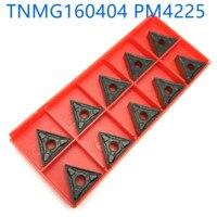 כלי קרביד מחרטה TNMG160404 / 08 Blade PM4225 Chamfering החיצוני R0.4 R0.8 מפנה קרביד כלי הוספת כלי CNC מחרטה חותכת (2)