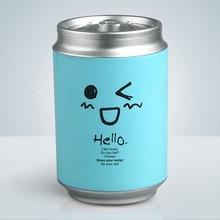 Creative Mini Cans USB Car Air Humidifier Ultrasonic Cute Cartoon Essential Oil Aroma Diffuser Home Office Mist Maker Fogger