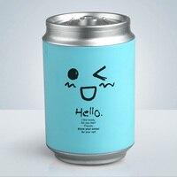 Creative Mini Cans USB Car Air Humidifier Ultrasonic Cute Cartoon Essential Oil Aroma Diffuser Home Office