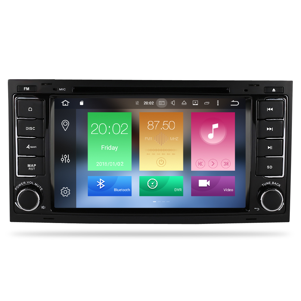Image 2 - Octa Core Android 9.0 Car Video DVD Player For Volkswagen Touareg/T5 2004 2011 FM Radio GPS Navigation Multimedia Stereo 4G RAM-in Car Multimedia Player from Automobiles & Motorcycles