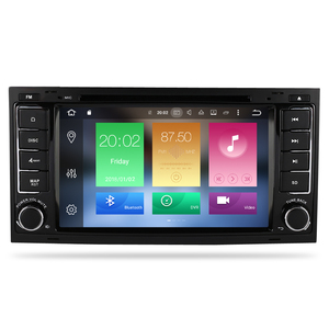 Image 2 - Octa Core Android 9.0 Car Video DVD Player For Volkswagen Touareg/T5 2004 2011 FM Radio GPS Navigation Multimedia Stereo 4G RAM