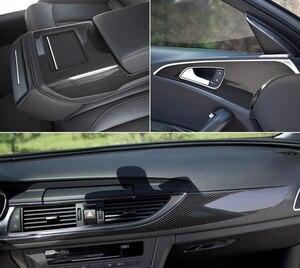 """Image 3 - 40 ס""""מ x 200 ס""""מ גבוה מבריק 5D תיקון סריטות רכב גלישה ויניל סרט סיבי פחמן מדבקות לרכב אופנועים Tablet אביזרי עיצוב"""