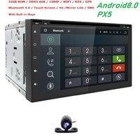 2Din 7 автомобильный DVD Радио 1024*600 Android 8,0 8 CoreUniversal автомобиль кран Планшетные ПК 2din для Nissan gps стерео аудио плеер 4 г + 32 г