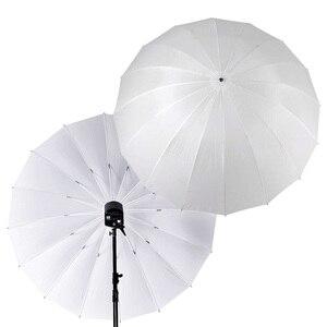 """Image 1 - Godox Photo Studio 60 """" / 150cm 75"""" / 185cm grand parapluie translucide blanc doux pour Flash lumière stroboscopique photographie"""