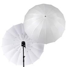 """Gratis DHL Godox Photo Studio 60 """"/150 cm 75""""/185 cm Grote Zachte Witte Doorschijnende Paraplu voor Flash Light Strobe Fotografie"""