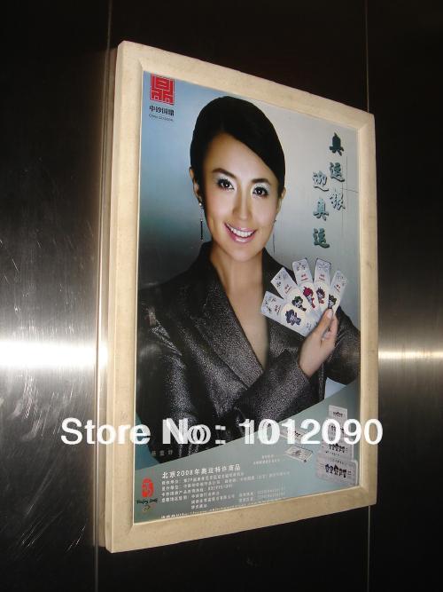 Elevator advertising box/ad box/wallmounted advertising post frames/Size:45X60CM