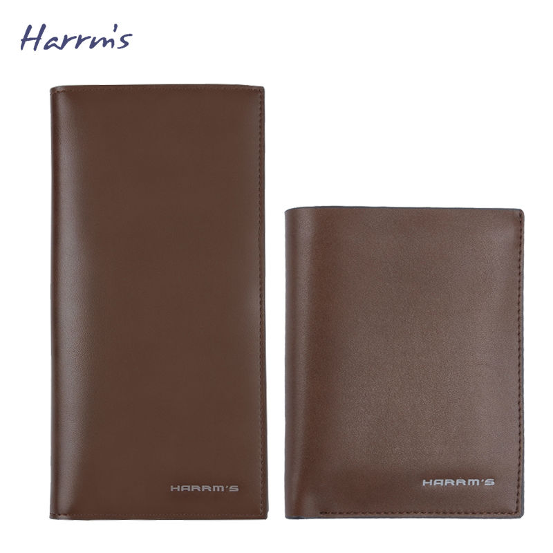 ФОТО Harrms Leather Men Wallets Designer Wallets Famous Brand Men Wallet 2016 Fashion Purse Money Collection monedero