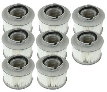 Niemcy norwegia MSPA wymiana filtra opakowanie X 8 nadmuchiwane wanną z hydromasażem-utrzymać go w czystości 8 sztuk partia szwajcaria kanada Mspa filtr tanie i dobre opinie SerRickDon 2 osób YZ-1008 Spa wanny Mspa filter hot tub cartridge