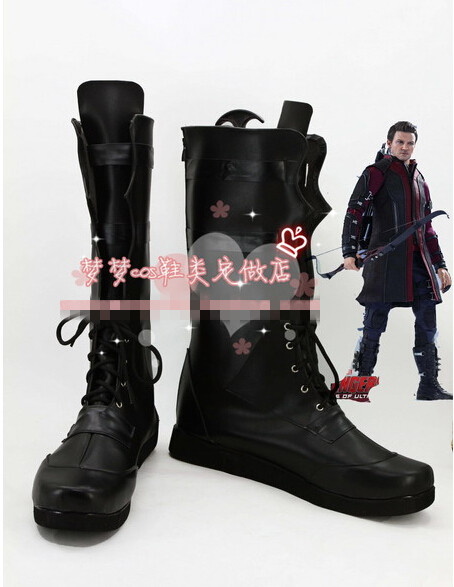 Custom made della marvel the avengers hawkeye cosplay scarpe stivali