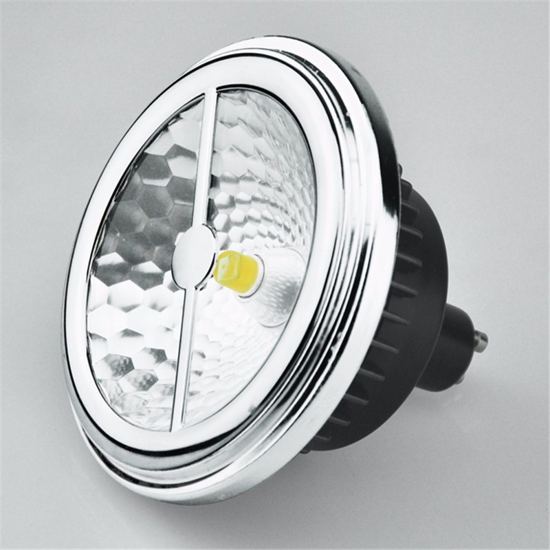 ar111 es111 led lamp 15w replace 75w halogen g53 gu10 led spotlight 12v cree cob led 85ra es111. Black Bedroom Furniture Sets. Home Design Ideas