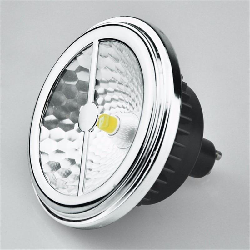 AR111 ES111 LED Lamp 15W Replace 75W halogen G53 GU10 LED Spotlight 12V,CREE COB LED >85Ra ES111 LED Bulb Free Shipping DHL/UPS 10pcs lot hot selling cob led bulb lamps ar111 qr111 15w g53 ac85 265v cob led spot light free shipping