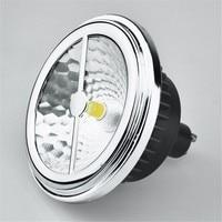 AR111 ES111 LED Lamp 15W Replace 75W halogen G53 GU10 LED Spotlight 12V,CREE COB LED >85Ra ES111 LED Bulb Free Shipping DHL/UPS