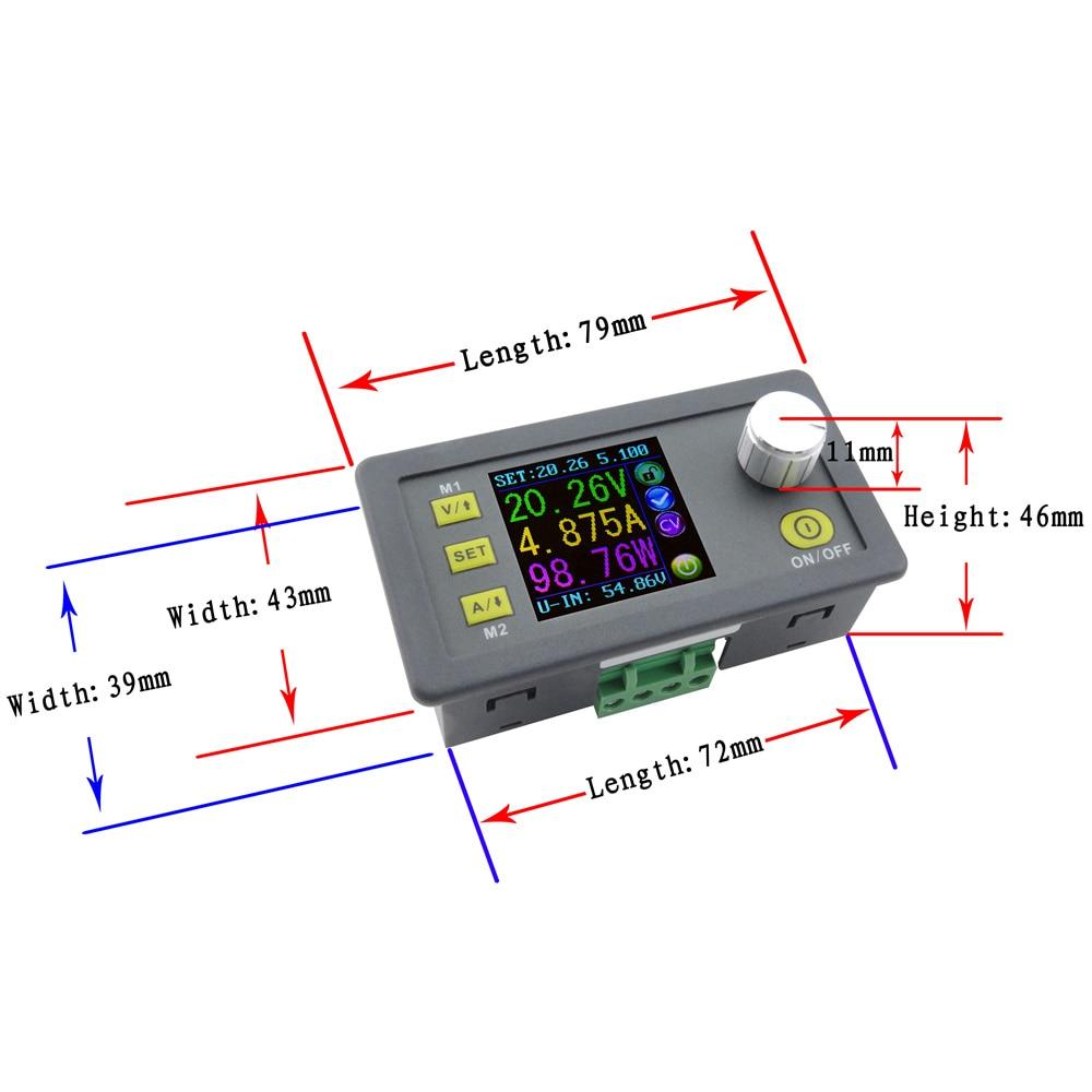 Prosun Voltmeter Gauge Wiring Diagram Trusted Schematics Basic Electrical Diagrams Dps5005 Lcd Converter Adjustable Voltage Current Meter Regulator