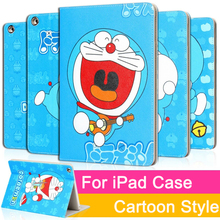 цены на Lovely cartoon style Cover Case For iPad mini 1 2 3 Air Air2 Tablet Case Stander Cover for New iPad 9.7 2017 Auto Wake Up/Sleep  в интернет-магазинах