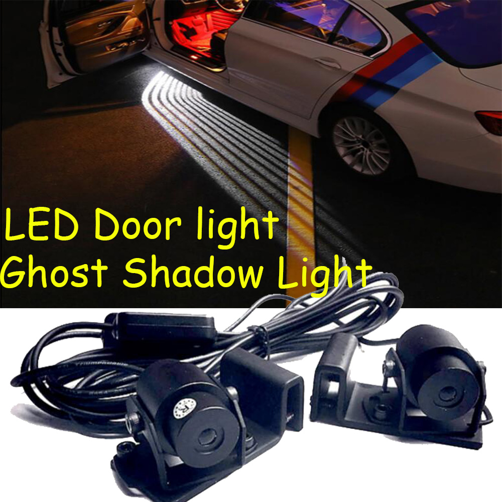 car accessories,LED,Mini Cooper door Light,countryman,paceman daytime light,Ghost Shadow Light,helmet цена