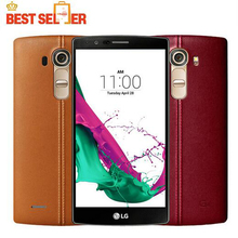 "Unlocked LG G4 H815 EU Hexa Core 3GB RAM 32GB ROM 5.5 "" Cell Phone 16.0MP Camera 4G LTE Original phone"