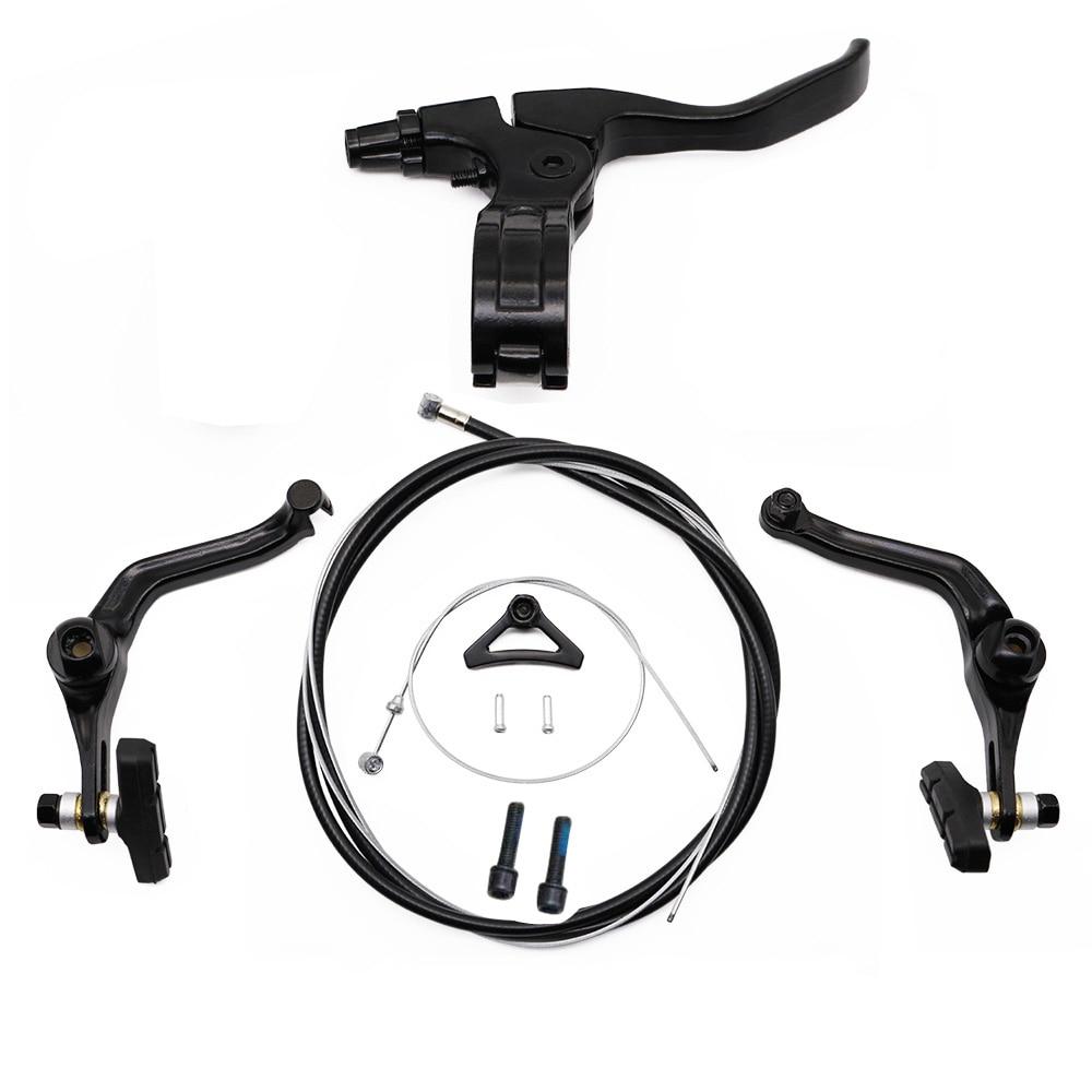BMX brake  (folding) right brake handle full set after the line clamp bicycle parts BMX parts V-brake  U-brake SCJ009
