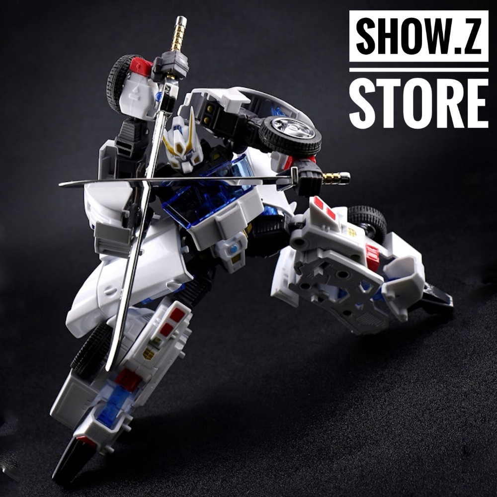 [Show.Z Store] FM Toys MP002 Windrunner Drift White Version Transformation Action Figure [show z store] [pre order] fanstoys ft 25 outrider fans toys transformation figure toy