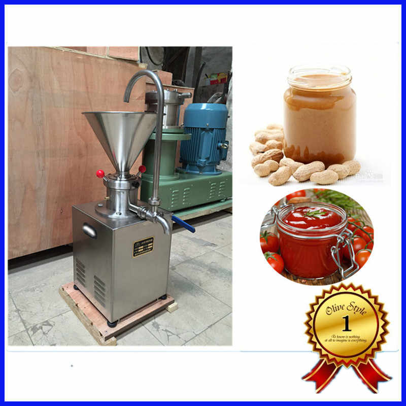 Stainless steel durable peanut butter machine / peanut grinder / peanut butter colloid mill for sale