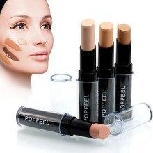 Brand Face Make Up Contouring Concealer Stick 4colors Primer Makeup Paleta Corrector Base Dermacol Naked Skin Concealer Caneta цена
